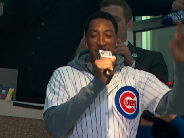 Watch NBA Great Scottie Pippen Butcher 'Take Me Out to the Ballgame'