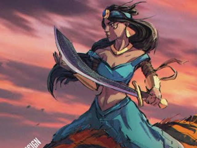 Aladdin Makes for Compelling Tragedy in This Artist's Dark Re-Imagining