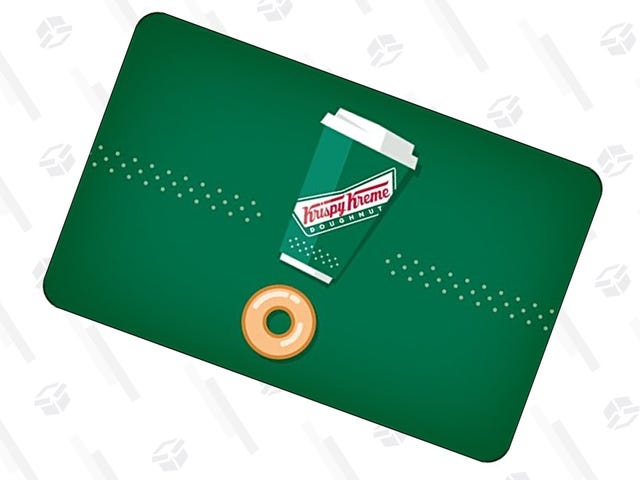 Go Nuts For Bonus Donuts! Grab a $50 Krispy Kreme Gift Card For $40.
