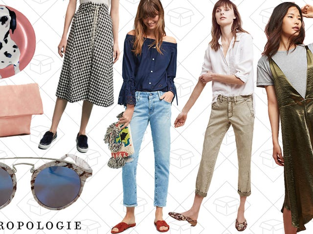 Grab an Extra 30% Off Anthropologie's Entire Sale Section