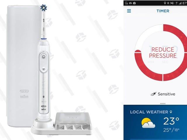 Upgrade To A Smarter Toothbrush For the Best Price Ever Today
