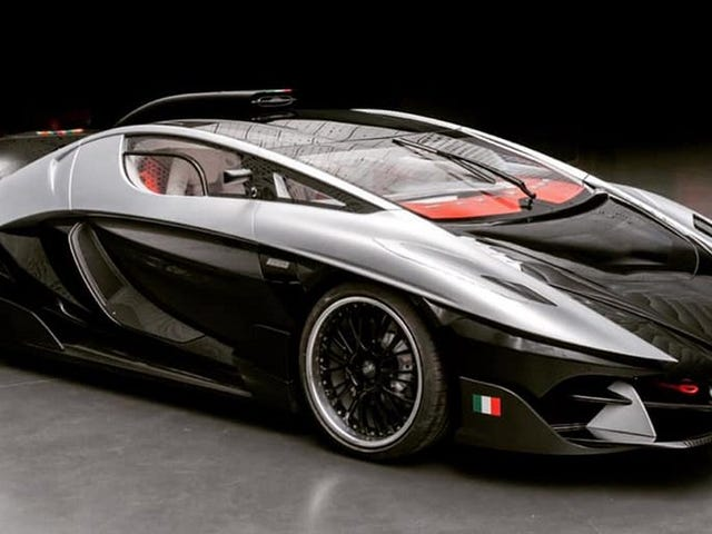 The Outrageous FV Frangivento Asfane DieciDieci Wants to Be the Italian Koenigsegg