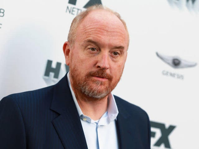 Suddenly Louis CK Cares About 'Consent' When It Comes to Bad Jokes