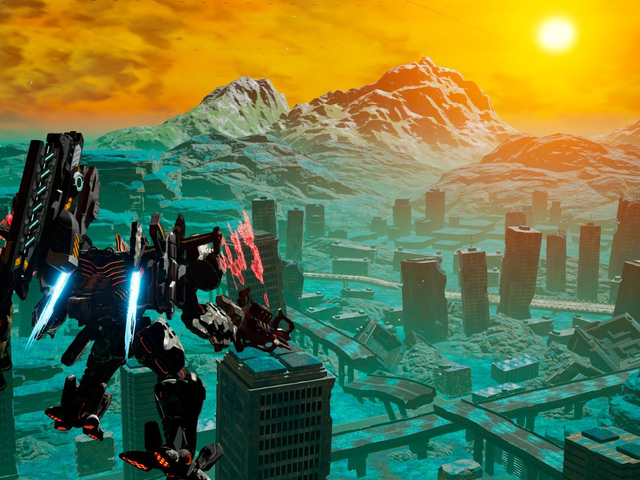 Anime mech fighter Daemon X Machina is coming to PC on February 13