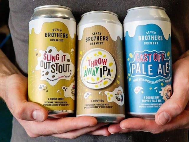 Estos cerveceros ingleses están usando las sobras de cereales para crear cerveza ecológica