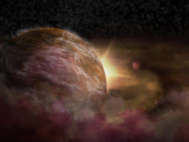 Nueva técnica revela los planetas ocultos infantiles que orbitan una estrella recién nacida