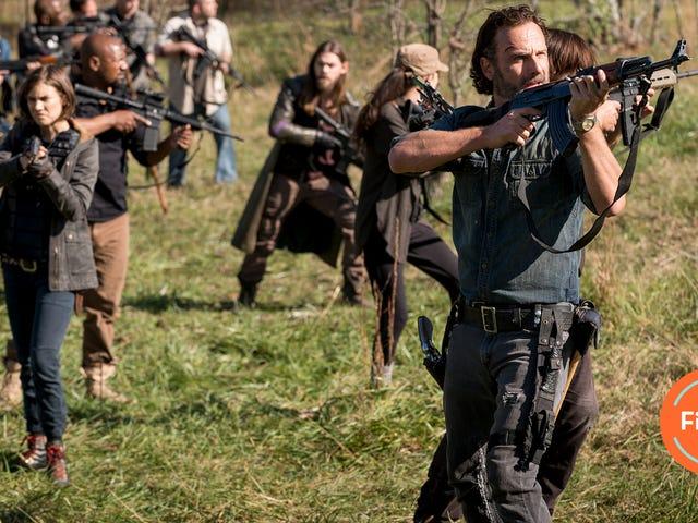 <i>The Walking Dead</i>の第8シーズンは、血まみれの大きな戦争で終わります