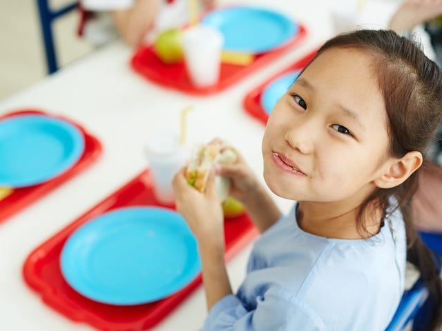 Er 20 minutter nok tid til skolefrokost?