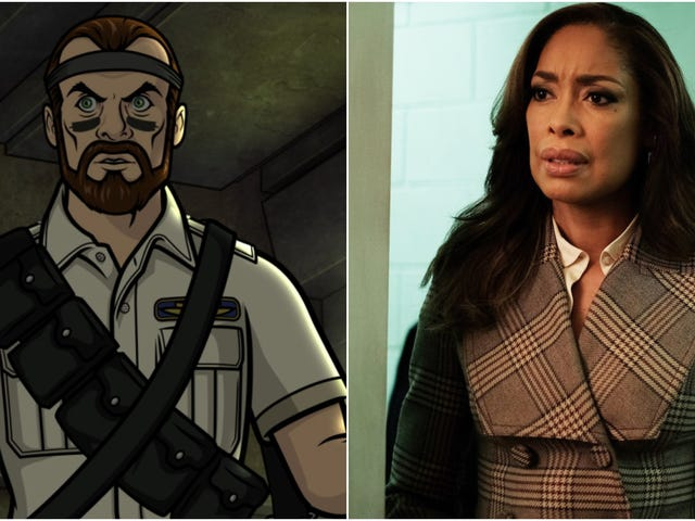 "Archer meets ""Space Pirates,"" while Gina Torres meets Chicago politics"