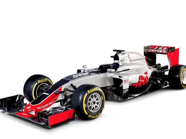 This Is Haas F1's America-Tastic Formula One Racer