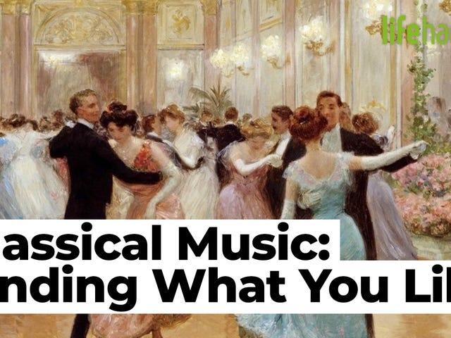 Como encontrar música clássica que você realmente gosta