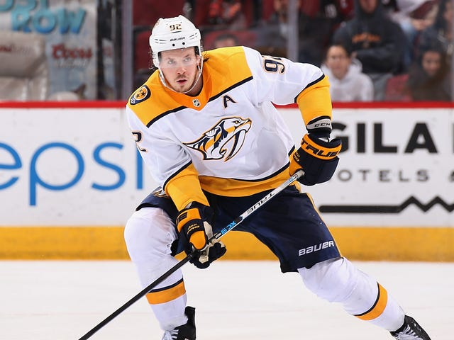 Predators' Ryan Johansen Skates Off Ice After Walk-Off Goal