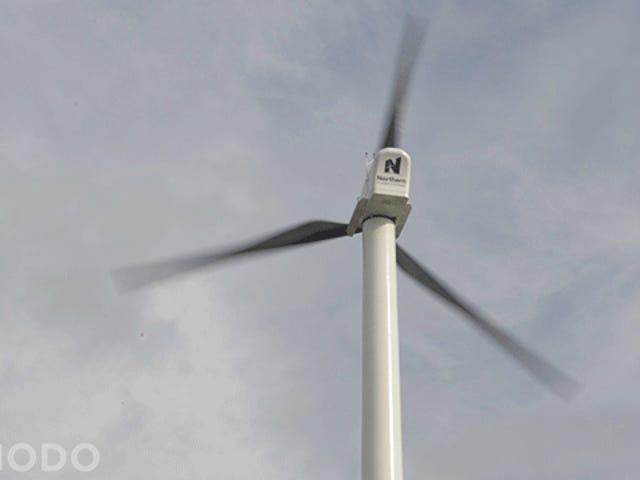 Kiipeä New Yorkin korkeimman tuuliturbiinin yläreunaan