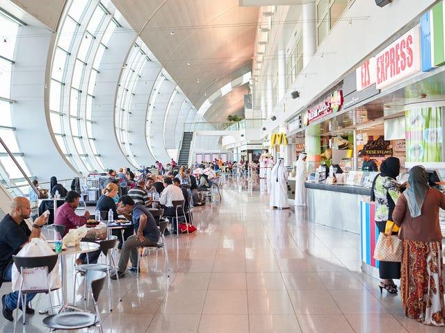USA: s flygplatser med den bästa och värsta maten