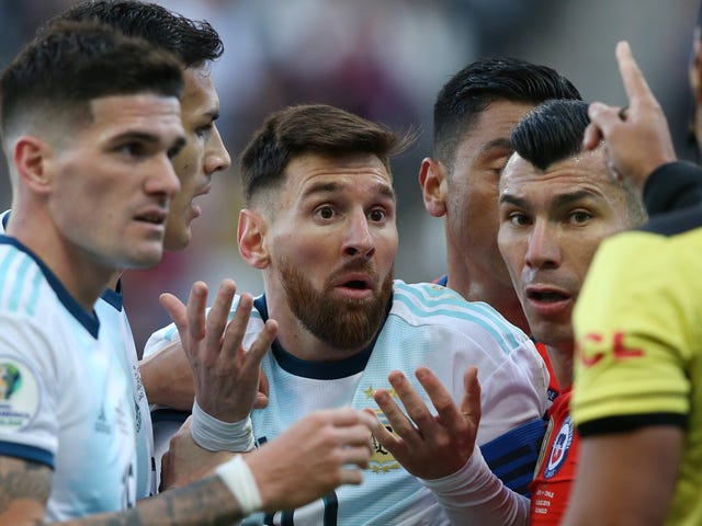 "Messi On Copa America: ""Jeg tror, ​​at cupen er fast for Brasilien"""