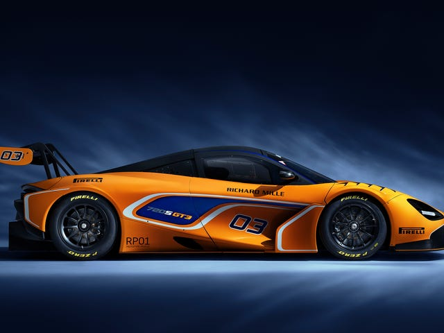 McLaren 720s GT3 являє собою Змагання Версія Mclaren Ви Jealous