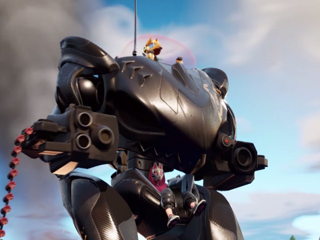 Fortnite Adds Titans (I Mean Mechs)