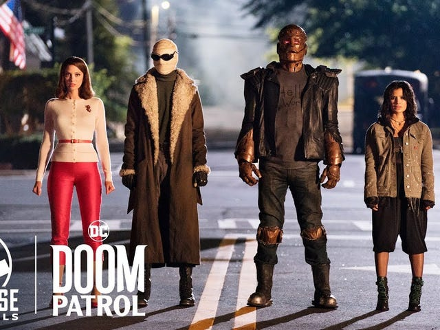 Watch the Doom Patrol Pilot for Free for a Limited Time