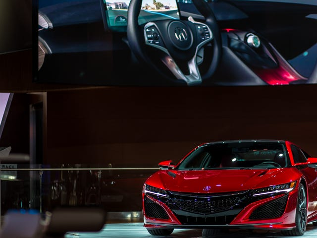 The New NSX Is So Damn Pretty