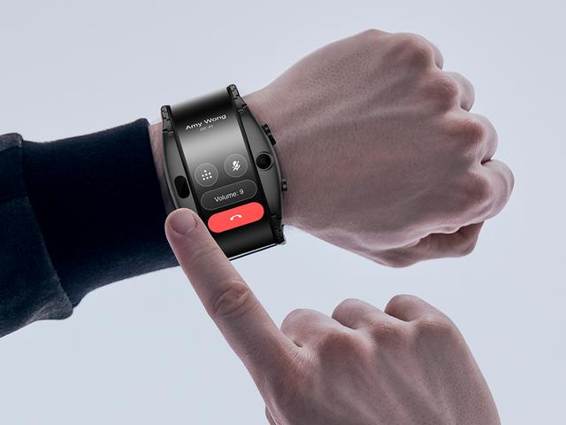 Nubia Alpha: som espressacular är el primer smartwatch med en flexibel 4 pulgadas