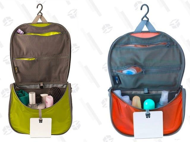 Upgrade To This Discounted Lightweight Hanging Toiletry Bag