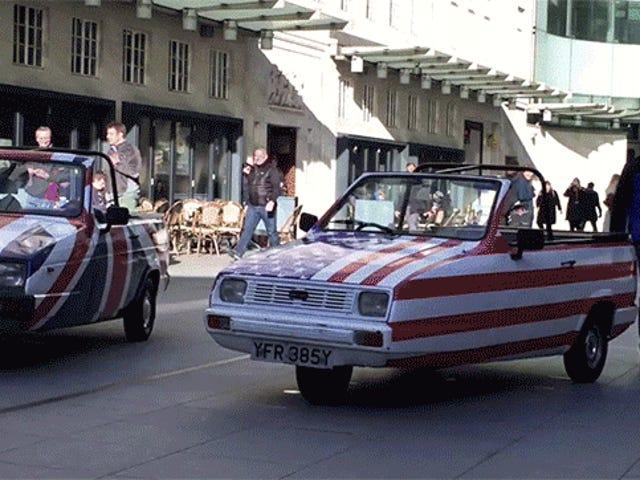 Новий Top Gear буде продовжувати робити Crazy Stuff In Reliant Robins