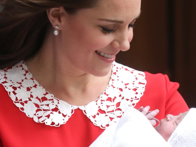 The Royal Baby Prince Louis Will, Unfortunately, Always Be Outranked by My Prince Louis