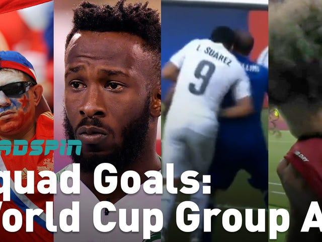 (거의) 월드컵 A 조에 대해 알아야 할 모든 것 (거의) 1 분