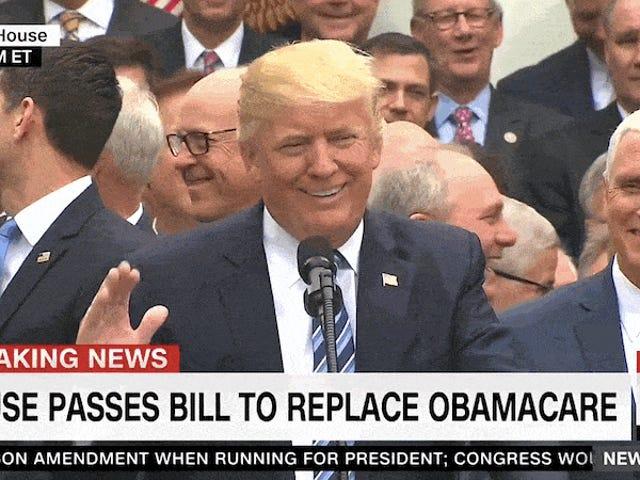 Bericht: Trump sagt den Senatoren, dass Trumpcare zu gemein ist