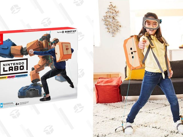 Find New Ways to Play Your Nintendo Switch With Half Off Labo Toy-Con Kits