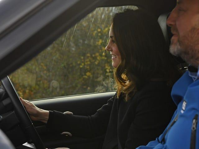 SHOCKING: Kate Middleton Drove a Car