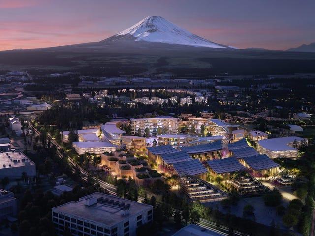Toyota está construyendo una ciudad entera