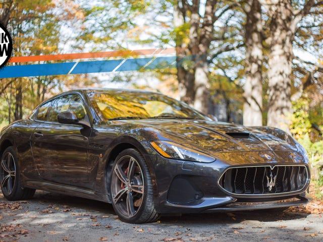 The 2018 Maserati GranTurismo MC Is A Magnificent Aural Dinosaur Frozen In Time