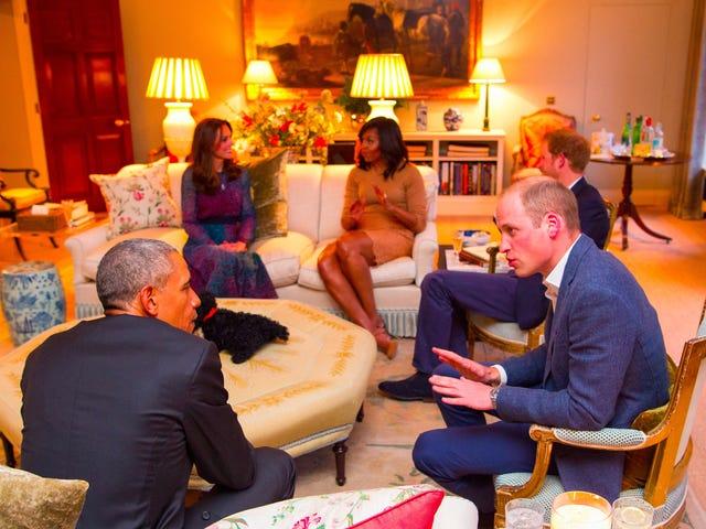 Le prince William et la duchesse Kate sont vos amis blancs bien intentionnés
