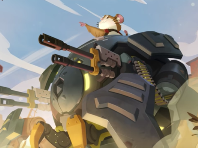 Overwatch's Latest Hero Is Wrecking Ball, A Hamster In A Mech [Update]