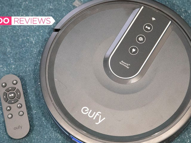 This Cheap Robot Vacuum Isn't Super Flashy, But It Gets the Job Done