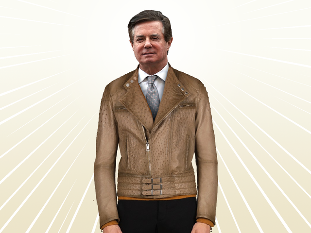 Is This Paul Manafort's $15,000 Ostrich Skin Jacket? [Updated]