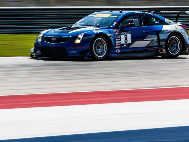 Cadillac päättyy menestyksekkäästi Pirelli World Challenge -ohjelmaansa