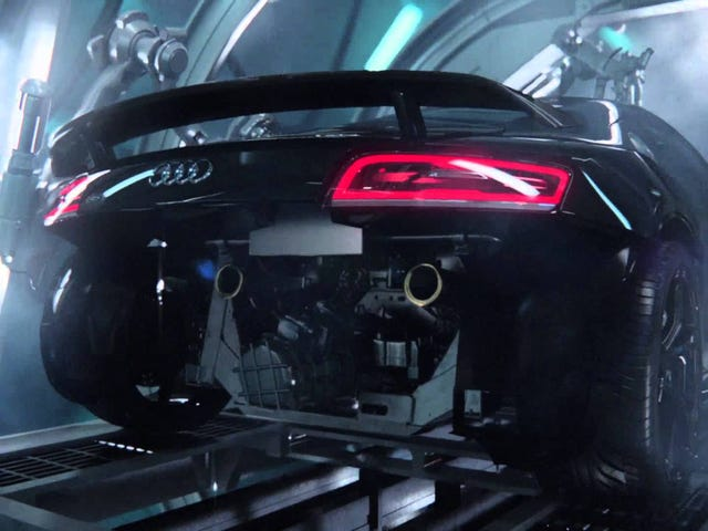 "I just saw the Audi RS3 ""Birth"" commercial for the first time, and now you have to deal with it too"