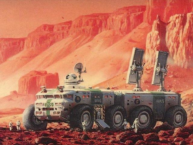 Kim Stanley Robinson quería ir a caminar en Marte, por lo que escribió <i>Red Mars</i>