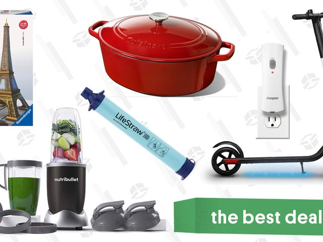 Sunday's Best Deals: Flashlights, Scooters, and Puzzles Galore