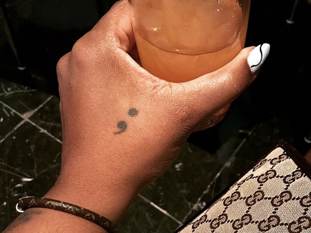 The Semicolon: How a Seemingly Obscure Tattoo Signifies Survival and Solidarity