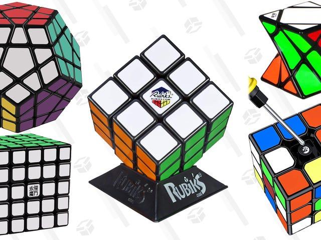 Explorez le vaste monde des cubes et des casse-tête rusés de Rubik