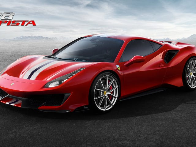 The Ferrari 488 Pista Is Your Extreme V8 Ferrari With 711 Horsepower: Reports (Updated)