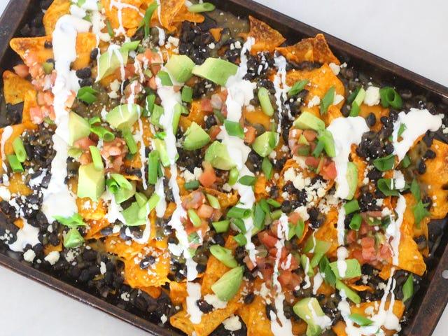 Construisez vos nachos sur Doritos