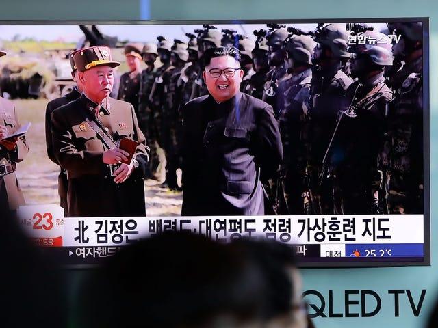 God for Guam, Rolling its Eyes som Nordkorea igen kalder det et mål