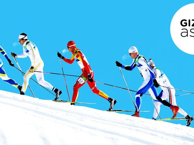 ¿Cómo se mantienen calientes los olímpicos de invierno?