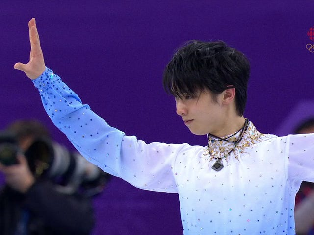 Yuzuru Hanyu Skated Masterfully And Then Winnie The Pooh Bears Rained Down On The Ice