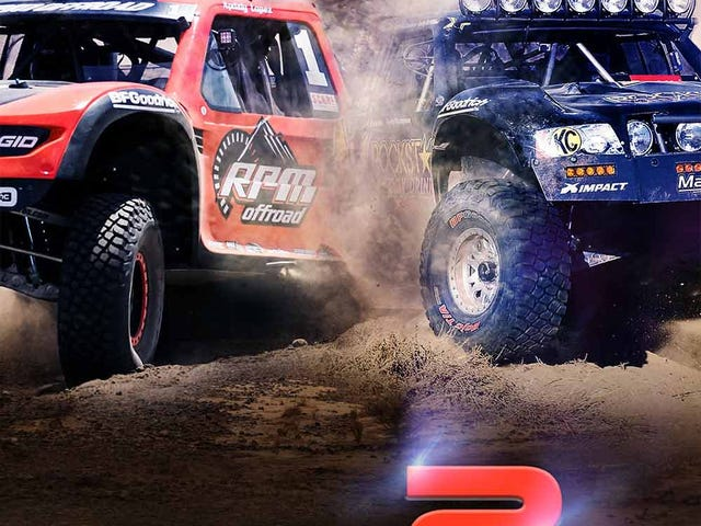 Baja 1000 action in theaters!