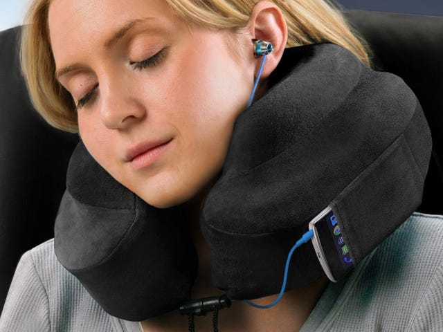 Just In Time For the Holidays: The First Discount We've Seen On Your Favorite Travel Pillow